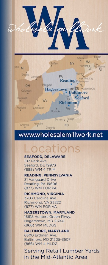 Wholesale Millwork Trade Show Banner