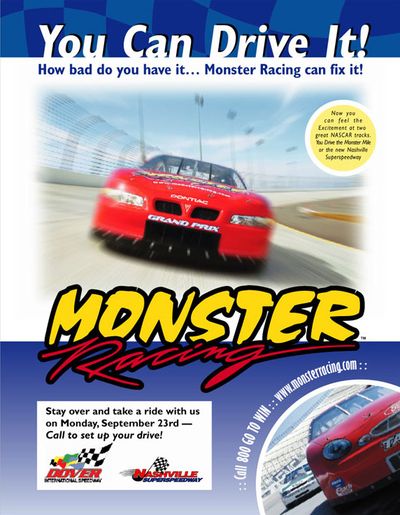 Monster Racing Dover Downs AD