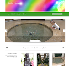 Lorien Nemec Yoga Instructor Website