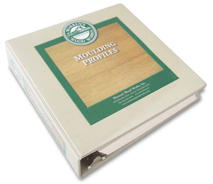 Warren Wood Works Profile Catalog Binder