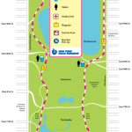 2009 TGL Classic Race Map Central Park NYC