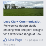 Lucy Clark on FaceBook - like us today