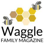 Waggle Family Magazine—Holiday Edition—graphics and logo